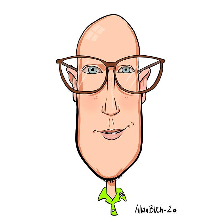 karikatur christoffer