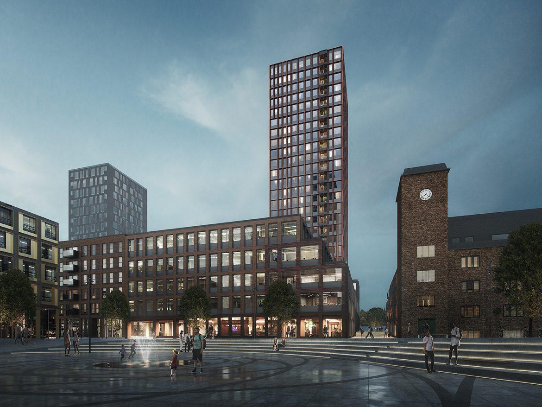 Carlsberg byen Dahlerups tårn